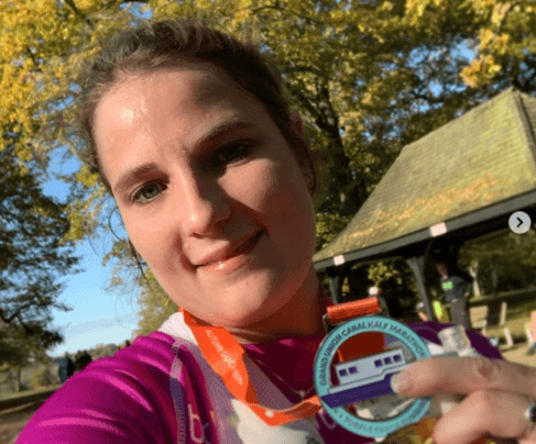 Our supporter Hannah smashes her fundraising target!