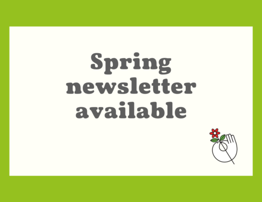 Spring newsletter available
