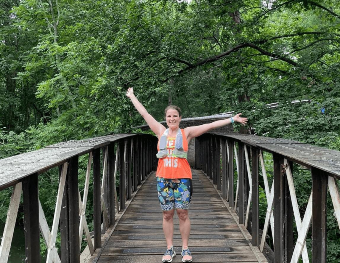 Hannah runs three marathons for Emmaus Oxford