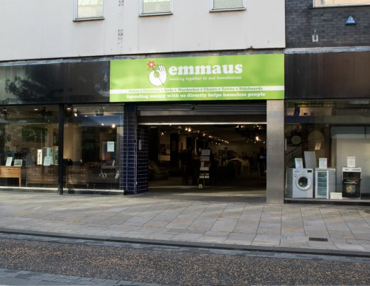 Emmaus Fishergate store transformed for Recycle Week