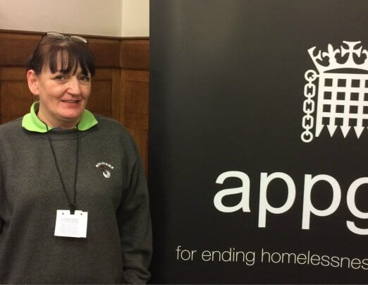 Karen speaks at the Houses of Parliament