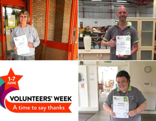 Celebrating our Preston volunteers