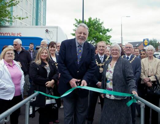 Terry Waite CBE opens Emmaus House in Salford