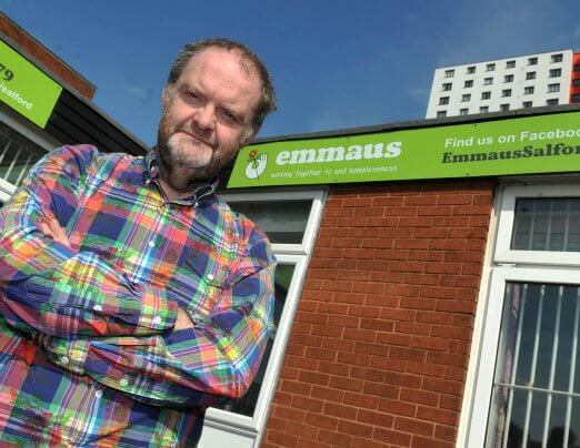Emmaus Salford in the M.E.N.