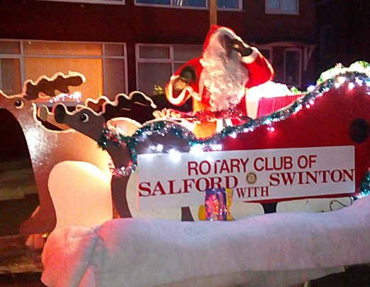 Solidarity at Christmas for Rotary fundraising
