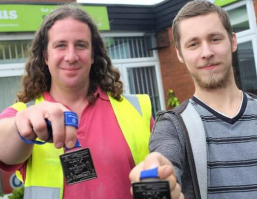 Emmaus Salford runners complete 'Great' challenge