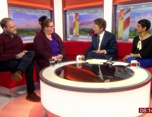 Emmaus Salford live on BBC Breakfast