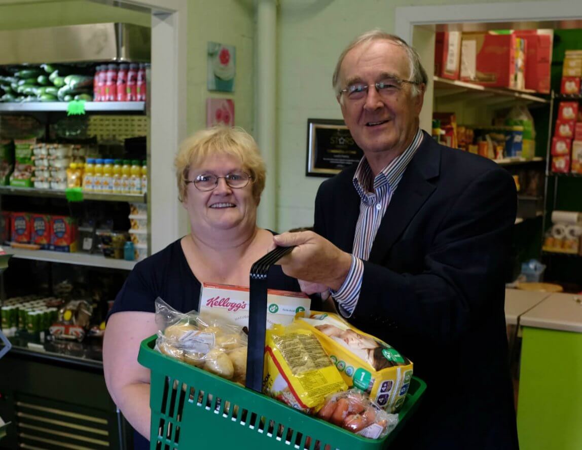 Edward Holt Trust pledges support to Lucie's Pantry