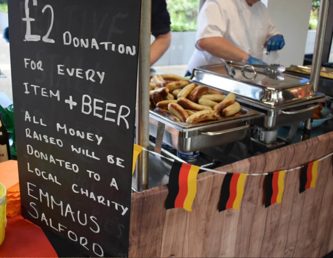 £1,000 raised at Exchange Quay Oktoberfest