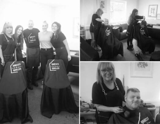 Barbers bring style to Emmaus Salford