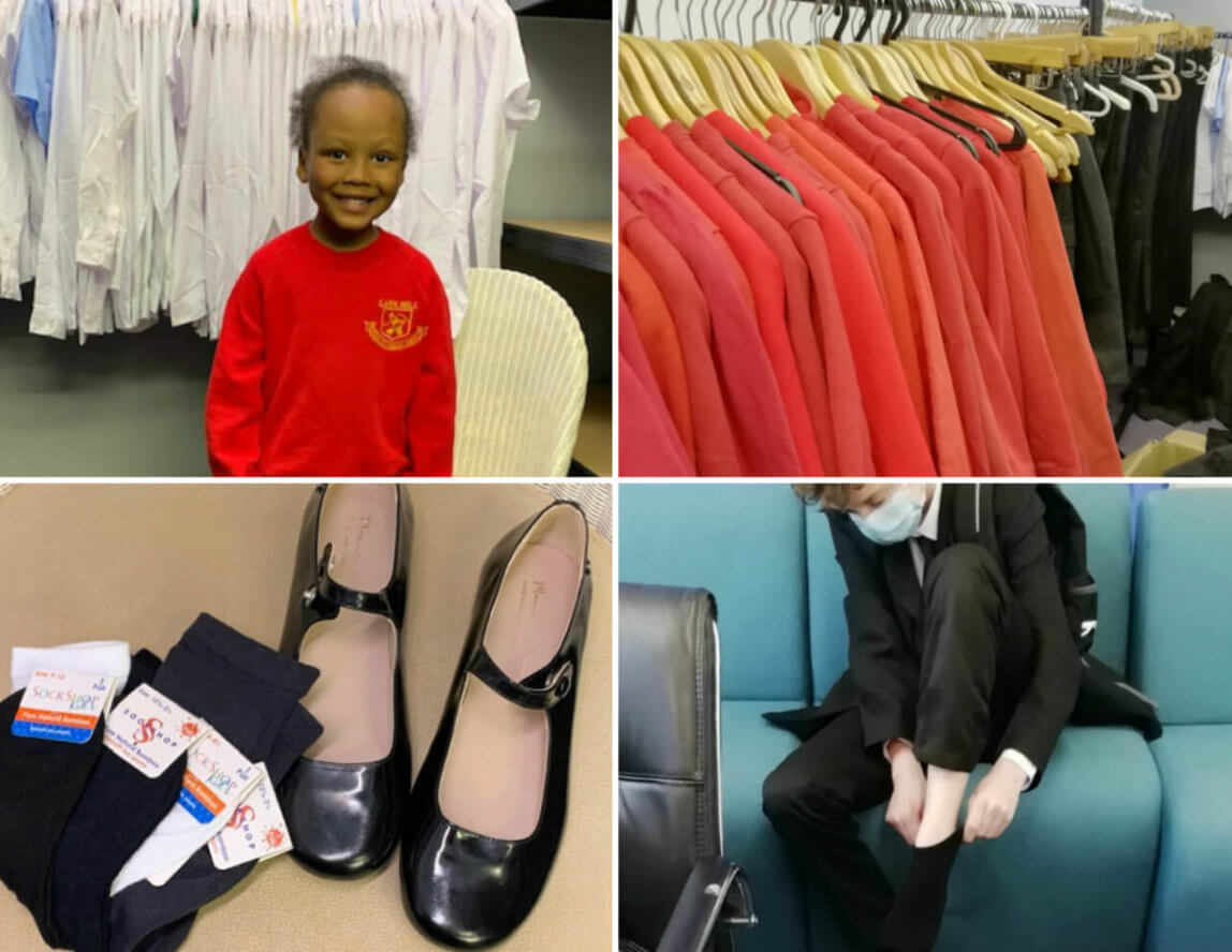 School Uniform Hub launched at Emmaus Salford