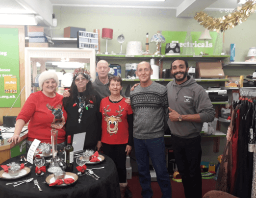 Christmas celebrations at Emmaus South Wales