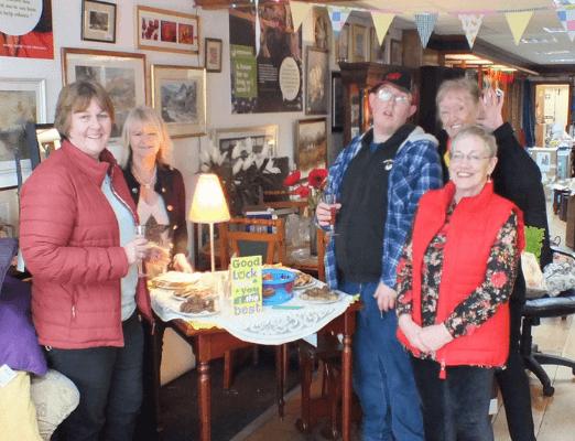 Our Cowbridge shop celebrates 4 years