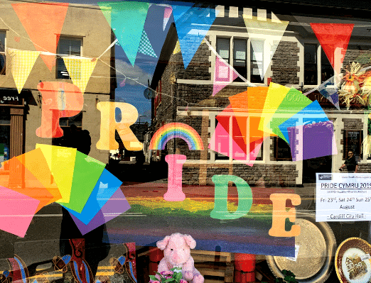 Emmaus South Wales supports Pride Cymru