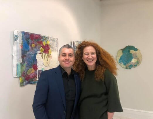 Emmaus residents attend Newport art exhibition on home and identity
