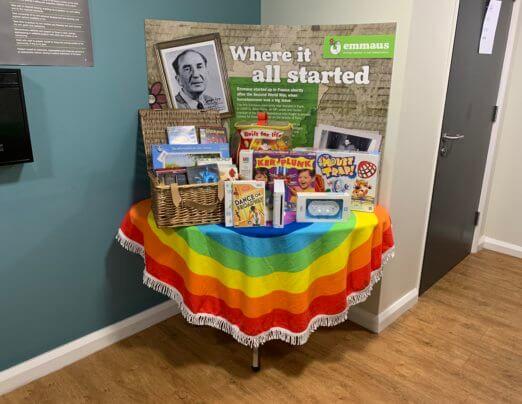Emmaus Rainbow Packs for households during lockdown