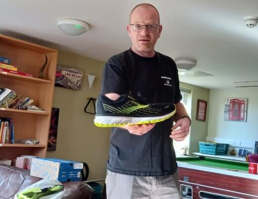 Running Bear provides trainers to Emmaus South Wales companions