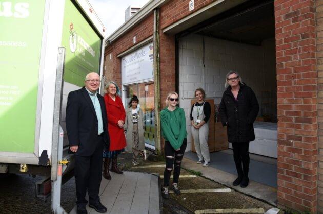 Emmaus Suffolk opens new Ipswich warehouse