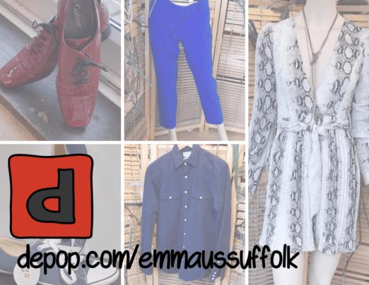 Shop online on depop!