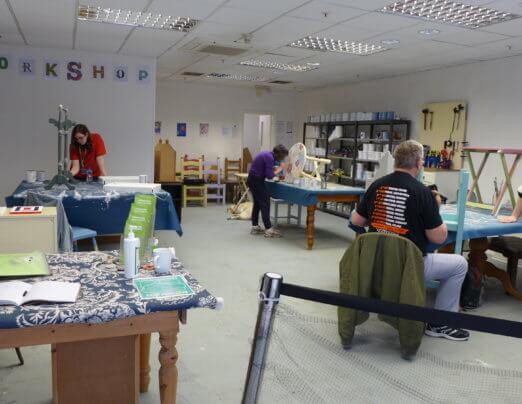 Chrissie talks all things craft on BBC Suffolk