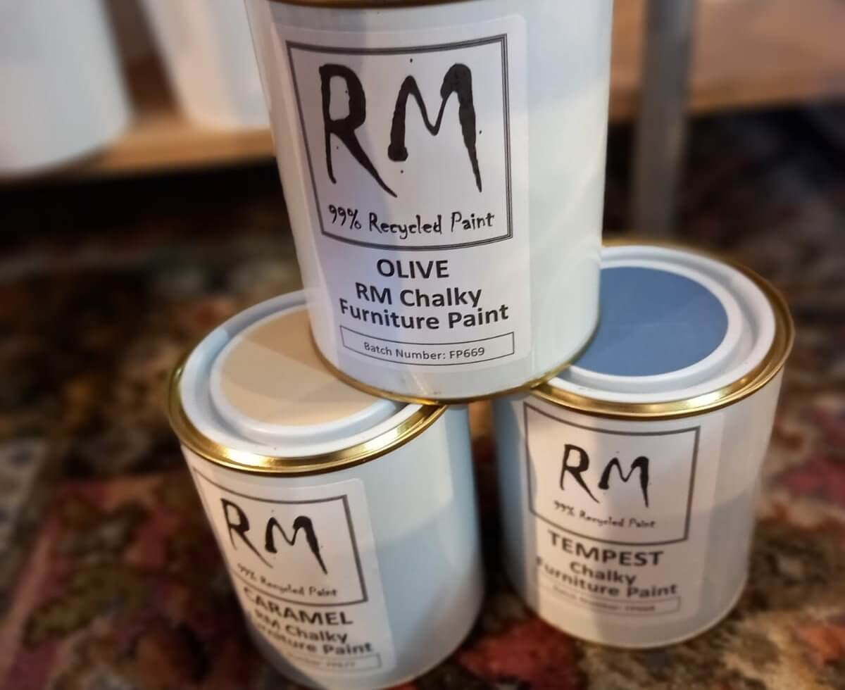 Recycled Paint