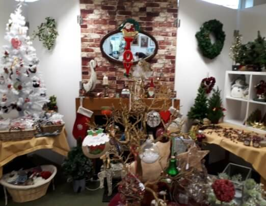 Christmas department now open