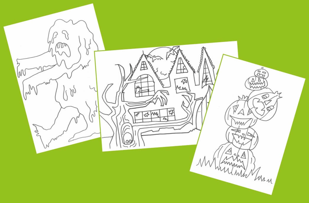 Halloween Colouring Competition
