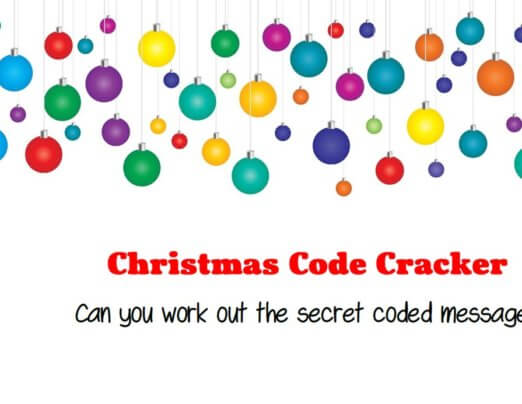 Christmas Code Cracker Competition