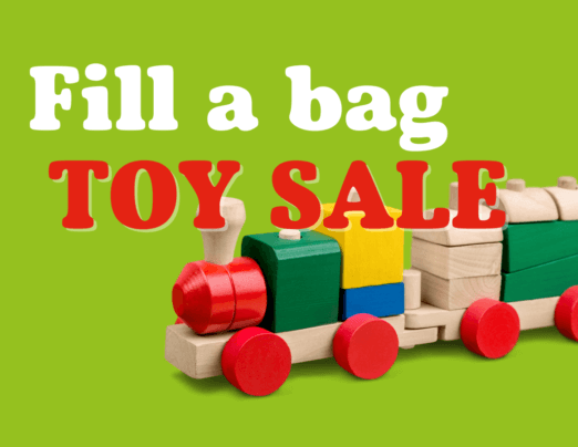 Fill a Bag Toy Sale