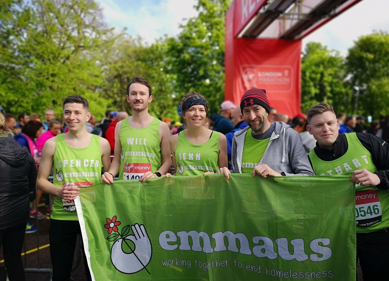 There are lots of ways you can support Emmaus