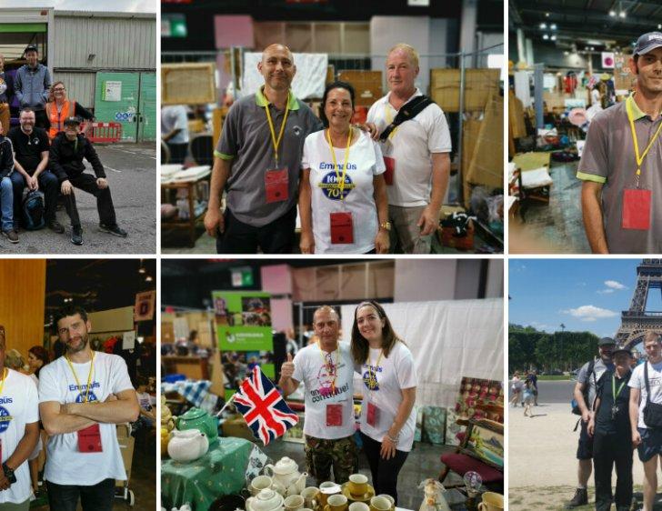 UK communities take part in Salon Emmaus 2019