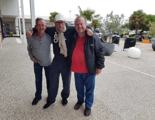Gordon and Gary visited an Emmaus in France