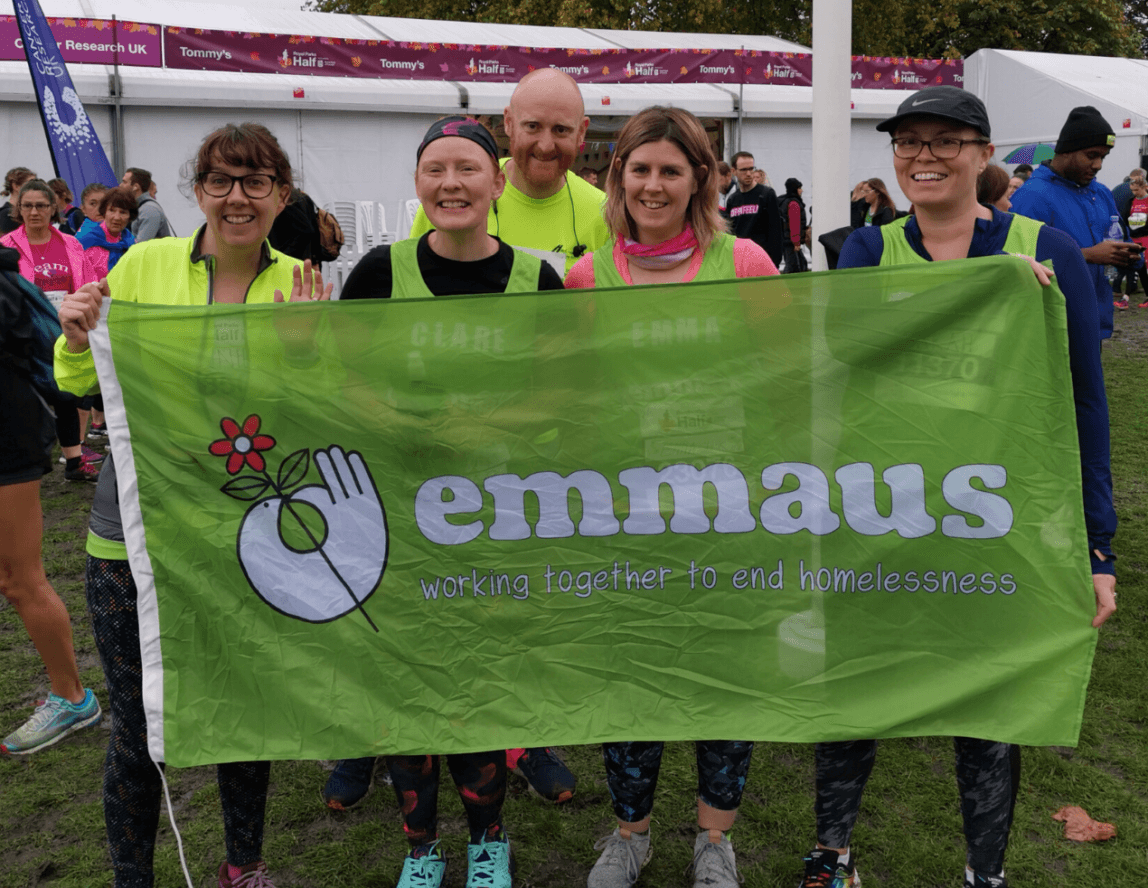 Royal Parks success for Emmaus runners