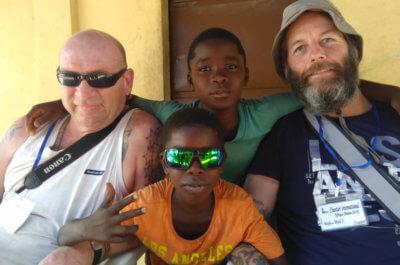 Companion Gav's solidarity trip to Benin